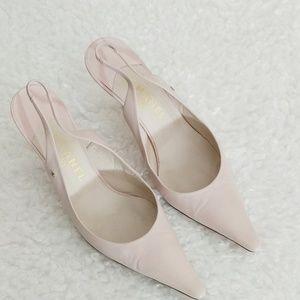 Chanel Blush Pink Slingback Pumps